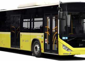Autobuses publicos en Estambul