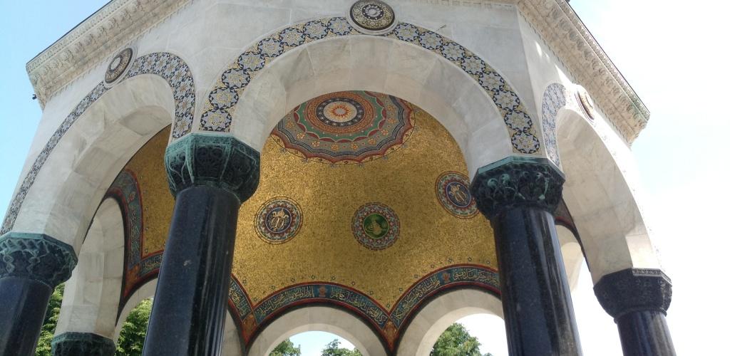 Fuente Alemana, Estambul
