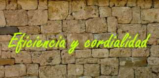 Eficiencia y cordialidad