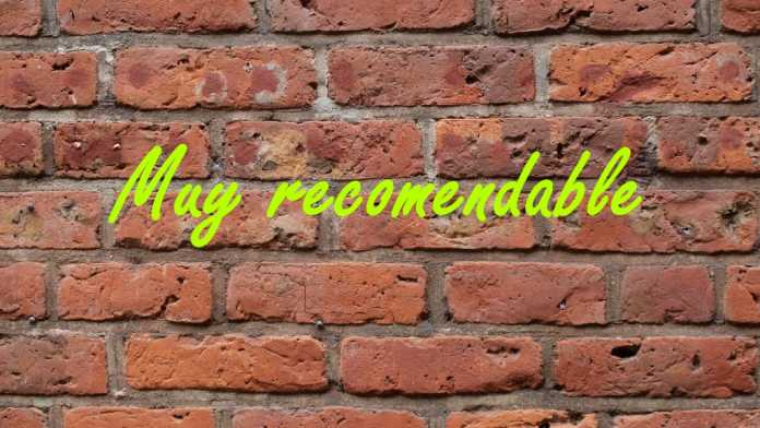 Muy Recomandable
